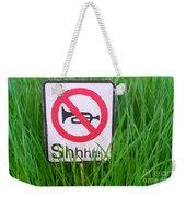No Horn Shhh... Weekender Tote Bag