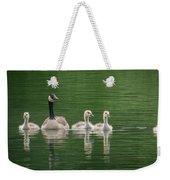 Geese Family Weekender Tote Bag