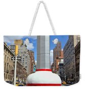 No Limits Exhibit Metlife Building Midtown Weekender Tote Bag