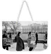 No More Weekender Tote Bag by Benjamin Yeager