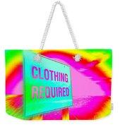 No Nudes Weekender Tote Bag