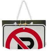 No Parking Weekender Tote Bag
