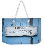 No Parking Sign Weekender Tote Bag