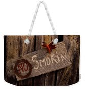 No Smokin Weekender Tote Bag