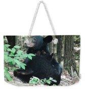 Bear - Cubs - Mother Nursing Weekender Tote Bag