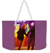 No Time For Shopping Weekender Tote Bag