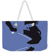 No008 My Pearl Jam Minimal Music Poster Weekender Tote Bag