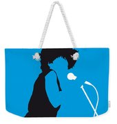 No019 My Tina Turner Minimal Music Poster Weekender Tote Bag by Chungkong Art