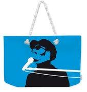 No039 My Stevie Wonder Minimal Music Poster Weekender Tote Bag
