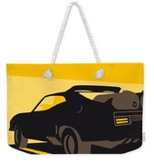No051 My Mad Max 2 Road Warrior Minimal Movie Poster Weekender Tote Bag