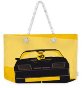 No051 My Mad Max Minimal Movie Poster Weekender Tote Bag