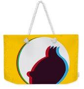 No096 My Tintin-3d Minimal Movie Poster Weekender Tote Bag