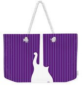 No124 My Purple Rain Minimal Movie Poster Weekender Tote Bag