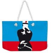 No136 My Soldier Blue Minimal Movie Poster Weekender Tote Bag
