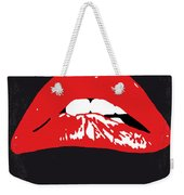 No153 My The Rocky Horror Picture Show Minimal Movie Poster Weekender Tote Bag by Chungkong Art