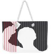 No185 My Psycho Minimal Movie Poster Weekender Tote Bag