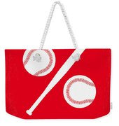 No191 My Moneyball Minimal Movie Poster Weekender Tote Bag