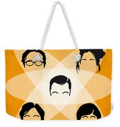 No196 My The Big Bang Theory Minimal Poster Weekender Tote Bag