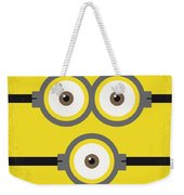 No213 My Despicable Me Minimal Movie Poster Weekender Tote Bag