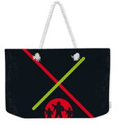 No224 My Star Wars Episode II Attack Of The Clones Minimal Movie Poster Weekender Tote Bag