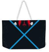 No225 My Star Wars Episode IIi Revenge Of The Sith Minimal Movie Poster Weekender Tote Bag