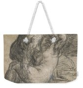 Couple In An Embrace Weekender Tote Bag