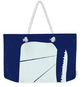 No267 My Moby Dick Minimal Movie Poster Weekender Tote Bag