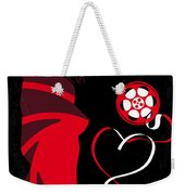 No277-007 My From Russia With Love Minimal Movie Poster Weekender Tote Bag