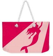 No314 My Mermaid Minimal Movie Poster Weekender Tote Bag