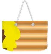 No326 My Juno Minimal Movie Poster Weekender Tote Bag