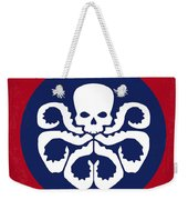 No329 My Captain America - 1 Minimal Movie Poster Weekender Tote Bag