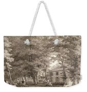 No.3933.f8 View Of The Stables On Lord Weekender Tote Bag