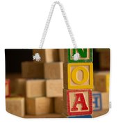 Noah - Alphabet Blocks Weekender Tote Bag