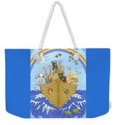 Noah's Ark Weekender Tote Bag by Alison Stein