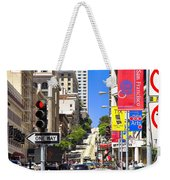 Nob Hill - San Francisco Weekender Tote Bag