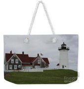 Nobska Point Light Weekender Tote Bag