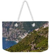 Nocelle Above Postitano Weekender Tote Bag