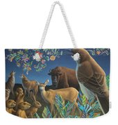 Nocturnal Cantata Weekender Tote Bag by James W Johnson