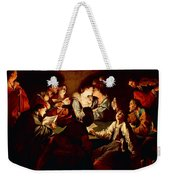 Nocturnal Concert Weekender Tote Bag by Jean  Leclerc