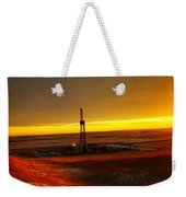 Nomac Drilling Keene North Dakota Weekender Tote Bag
