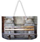 Non Whites Only Weekender Tote Bag