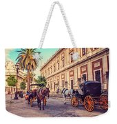 Noon At Cathedral Square. Seville Weekender Tote Bag