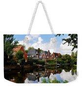 Noorder Amstelkanaal Amsterdam Weekender Tote Bag