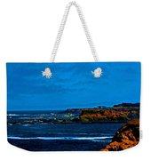 Nor Cal Seascape Weekender Tote Bag