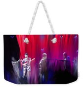 Norah Jones On Stage Weekender Tote Bag