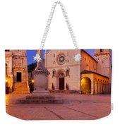 Norcia Umbria Weekender Tote Bag
