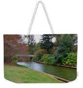 Norfolk Botanical Gardens Canal 3 Weekender Tote Bag