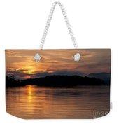 Norris Lake Sunrise Weekender Tote Bag