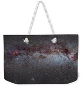 North America Nebula The Milky Way From Cygnus To Perseus And Andromeda Galaxy Weekender Tote Bag