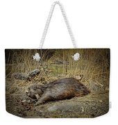 North American Beaver Weekender Tote Bag